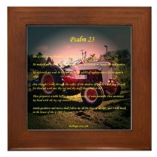 Framed Tile - Psalm 23