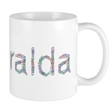 Esmeralda Paper Clips Small Mug