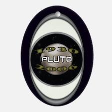 Pluto Commemorative Oval Ornament