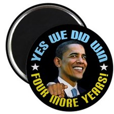 "Yes We Did! 2.25"" Magnet (10 pack)"