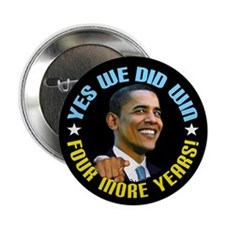 """Yes We Did! 2.25"""" Button (100 pack)"""