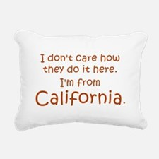 From California Rectangular Canvas Pillow