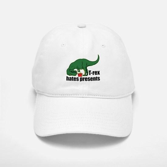 T-rex hates presents Cap