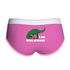 T-rex hates presents Women's Boy Brief