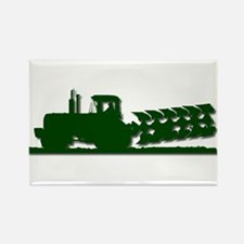 Farming Rectangle Magnet