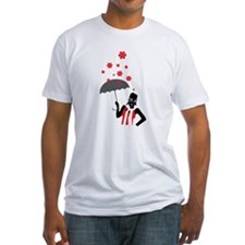 Prepper In The Rain Fitted T-Shirt