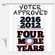 Voter Approved Shower Curtain