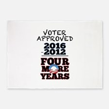 Voter Approved 5'x7'Area Rug