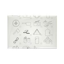 Prepper Tools Rectangle Magnet