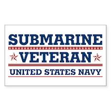 Submarine Veteran: United States Navy Decal