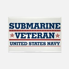 Submarine Veteran: United States Navy Rectangle Ma