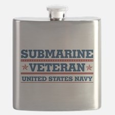 Submarine Veteran: United States Navy Flask