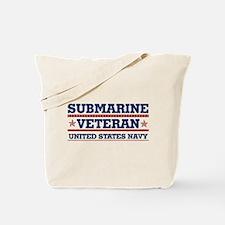 Submarine Veteran: United States Navy Tote Bag