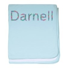 Darnell Paper Clips baby blanket