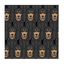 Australian Kelpies Tile Coaster