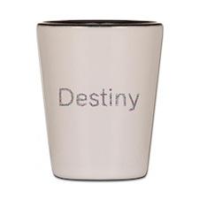 Destiny Paper Clips Shot Glass