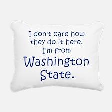 From Washington State Rectangular Canvas Pillow