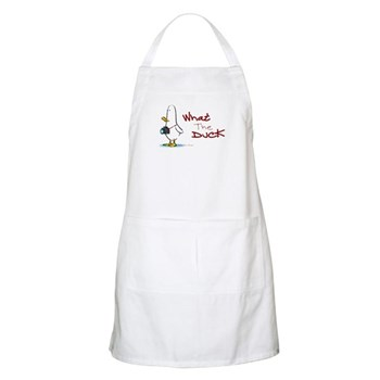 What the Duck BBQ Apron