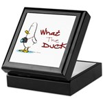 What the Duck Keepsake Box