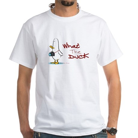What the Duck White T-Shirt