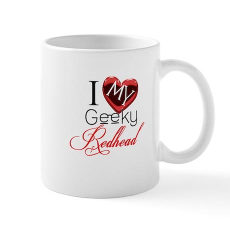 I Love my Geeky Redhead Mug