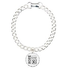 Melanoma Hope Courage Bracelet