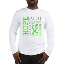 Lymphoma Hope Courage Long Sleeve T-Shirt