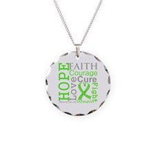 Lymphoma Hope Courage Necklace