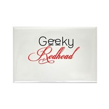 Geeky Redheads Rectangle Magnet