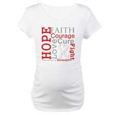 Lung Cancer Hope Courage Shirt