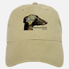 The Greyhound Brain Baseball Baseball Cap