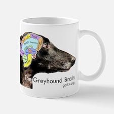 The Greyhound Brain Mug