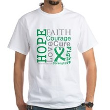 Liver Cancer Hope Courage Shirt