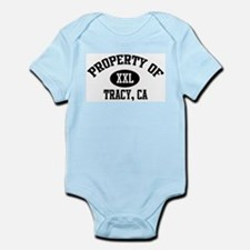 Property of TRACY Infant Creeper