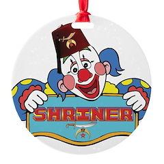 Proud Shrine Clown Ornament