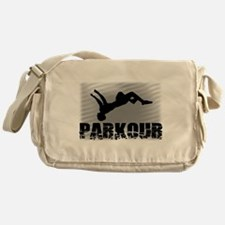 Parkour athlete Messenger Bag