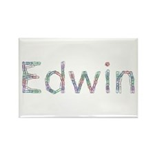Edwin Paper Clips Rectangle Magnet