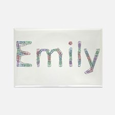 Emily Paper Clips Rectangle Magnet