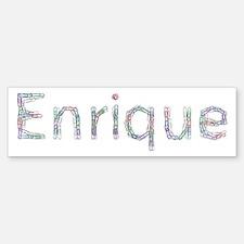 Enrique Paper Clips Bumper Bumper Stickers