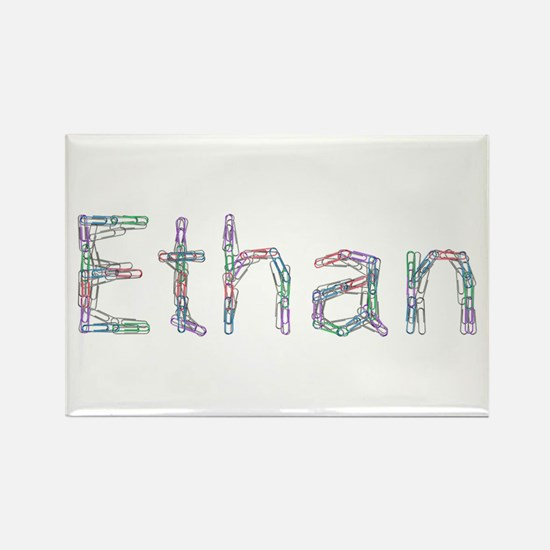 Ethan Paper Clips Rectangle Magnet