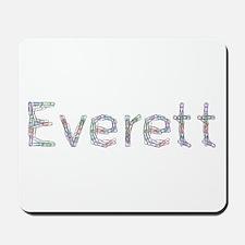 Everett Paper Clips Mousepad