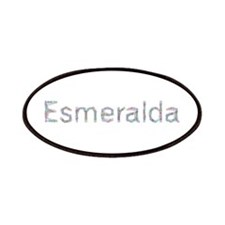 Esmeralda Paper Clips Patch