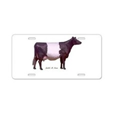 Dutch Belted Milk Cow Aluminum License Plate