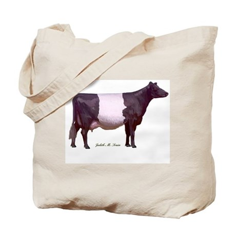 Dutch Belted Milk Cow Tote Bag