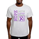 GIST Cancer Hope Courage Light T-Shirt