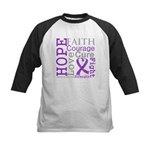 GIST Cancer Hope Courage Kids Baseball Jersey