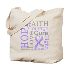 General Cancer Hope Courage Tote Bag