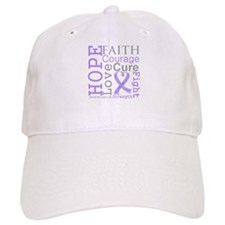 General Cancer Hope Courage Baseball Cap