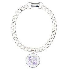 General Cancer Hope Courage Bracelet
