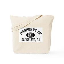 Property of SAUSALITO Tote Bag
